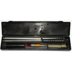 KIT LIMPIEZA RIFLE 3 BAQUETAS ACERO C.9mm-MOD.09/1