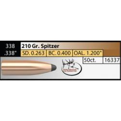 338 Cal 210gr Sp Partition (50 ct.)