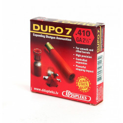 DUPO7-MUNICIÓN EXP. ACERO C. 410/65-7,1g- D.Exp.26mm