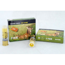 Bala FIER Nature 20 gr calibre 20/70